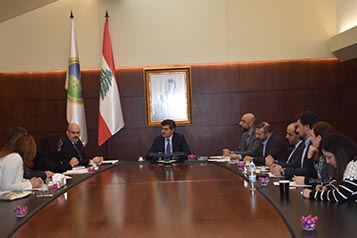 President Warrak meets with ACC Executive Committee