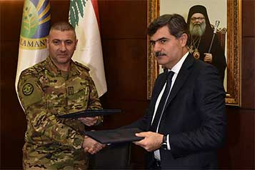 Agreement between Lebanese air forces & UOB