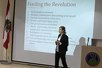 Lecture by Dr. Hala Khayr Yaacoub
