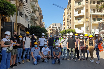 Collaboration regarding the catastrophic blast that devastated Beirut