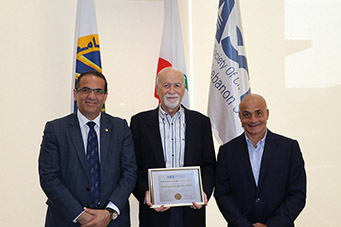 Mr. AbdelMunim Alameddine Receives ASCE Distinguished Service Medal