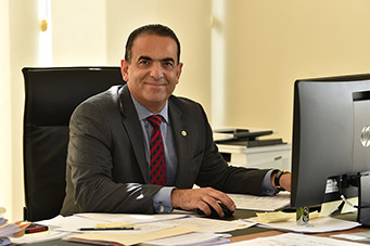 VP Abboud Shares UOB Online Exams Experience at an International Webinar