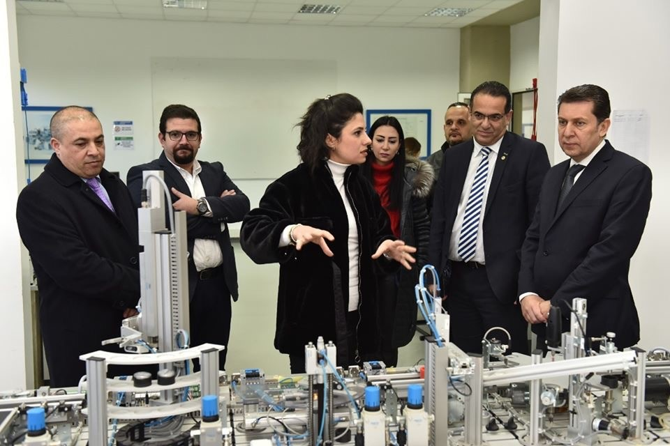 President of the Order of Engineers and Architects, Tripoli, visits UOB