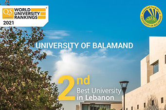 UOB climbs to 2nd place in Lebanon according to the QS World University Rankings
