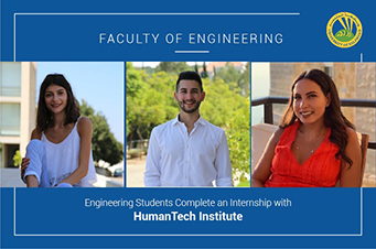Engineering Students Complete an Internship with HumanTech Institute